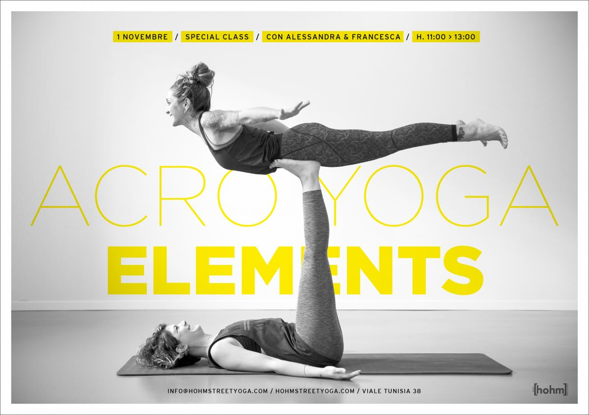 ACROYOGA ELEMENTS SPECIAL CLASS