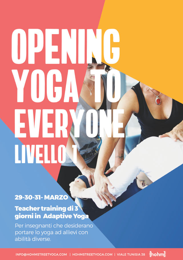 OPENING YOGA TO EVERYONE